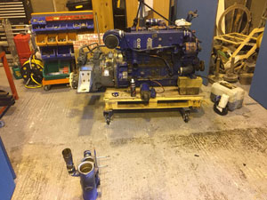 Boat engine repair in Anglesey