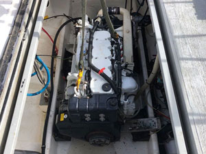 Commercial boat engine